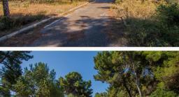 PRIMA e DOPO...strada depositi carburanti
