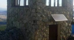 Vedetta sa Pedra Strantaxia Monte Arci Villaurbana (foto F.Meli)