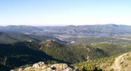 Panorama da Vedetta olinie Talana (foto G.Incollu)
