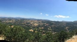 vedetta N.S. dei Monti, Fonni: sguardo dall'alto