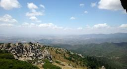Flumini, Quartu, Selargius, Cagliari, Sinnai, Mara, Settimo visti da vedetta B.cu su Soli (foto G.Deiana)