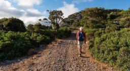 Un sentiero presso Buggerru