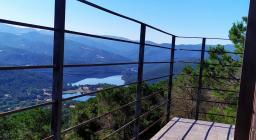 2a Veduta dalla vedetta, lago di Gusana e monti Ovodda (foto F.Orrù)