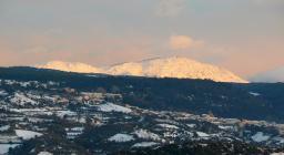 Modighina panoramica innevata (foto da Visit Asuni