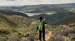 panorama dal sentiero escursionistico di pattada