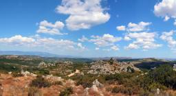 panoramica vetta monte Lerno