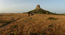 Sentiero verso il Monumento Naturale Perda 'e Liana (foto D.Secci)