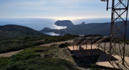 Da vedetta m.Timidone verso Capo Caccia e Isola Foradadda (foto D.Secci)