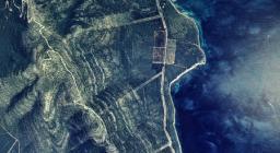 Vista aerea Porto Conte e Monte Timidone