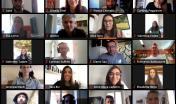un momento della lunga maratona online organizzata dal progetto Intense