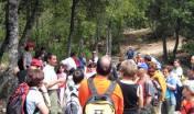 Spiegazioni lungo i sentieri escursionistici
