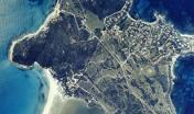 Capo Carbonara, foto aerea