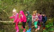 """Bimbi nel bosco per """"una Scuola nel Bosco"""" a Monte Arrubiu"""