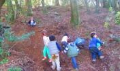 la scuola nel bosco - novembre 2015 monte Arrubiu