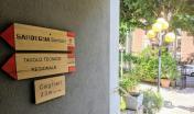 L'ingresso della Sede dell'Agenzia Forestas, in viale Merello, a Cagliari
