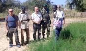 Delegazione Forestas in visita ad un vivaio forestale in Senegal