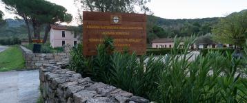Gli edifici di Forestas a Pantaleo