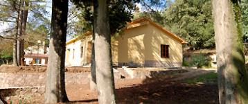 Strutture nella Foresta demaniale di Is Cannoneris