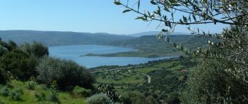 Sedilo, panoramica sul lago Omodeo (foto M-Frongia)